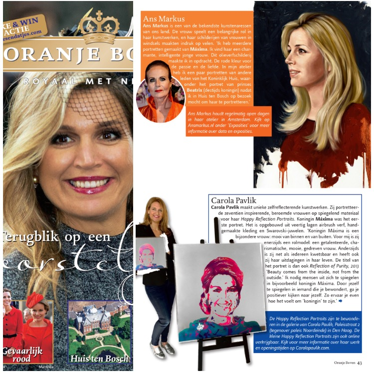 Interview In Dutch Royalty Magazine