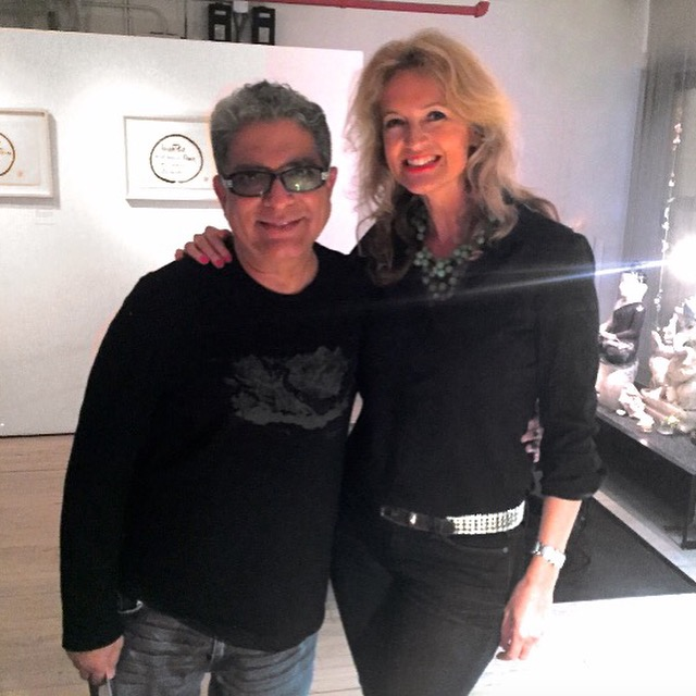 Being Inspired By Deepak Chopra -Carola Pavlik