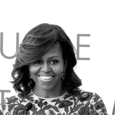 Michelle Obama; Stop Being Afraid