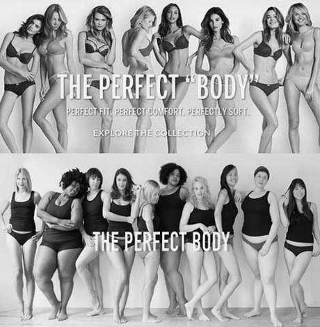 Controversial Victoria's Secret 'perfect Body' Campaign