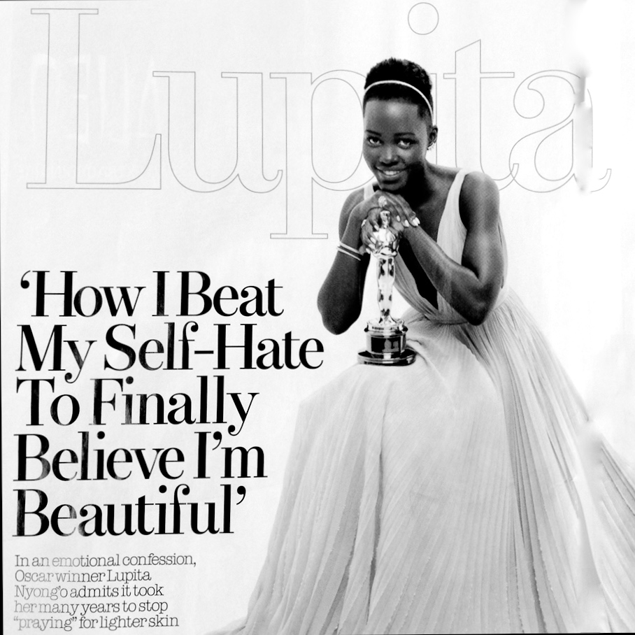 Oscar Winner Lupita Nyong'o Speech On Black Beauty