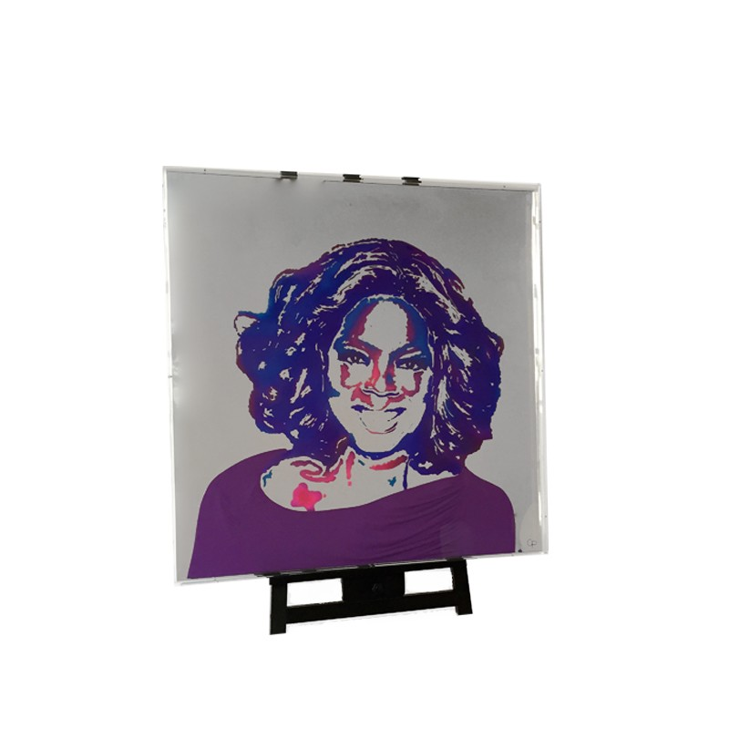 Oprah Winfrey Happy Reflection Portraits By Carola Pavlik
